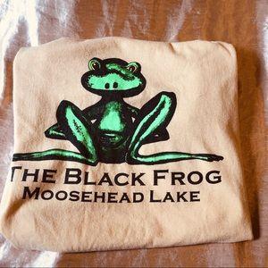 Tops - ⭐️ The Black Frog Moosehead Lake Vintage T-shirt